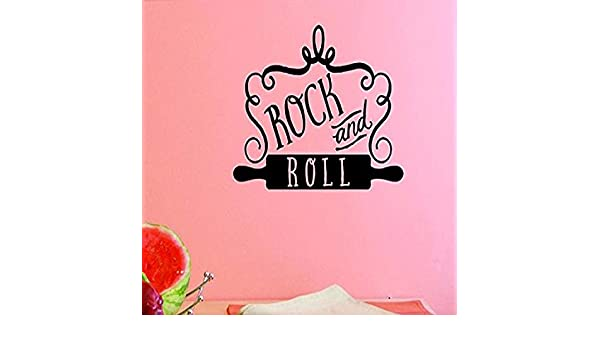 Design with Vinyl US V JER 2466 1 Top Selling Decals Rock and Roll Wall Art Size X 12 Inches Color Black 12 x 12,