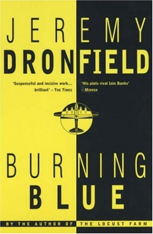 book cover of Burning Blue