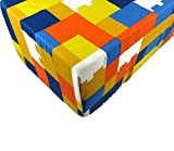 LEGO the Movie Fitted Sheet (ONLY) Size TWIN Boys Girls Kids Bedding