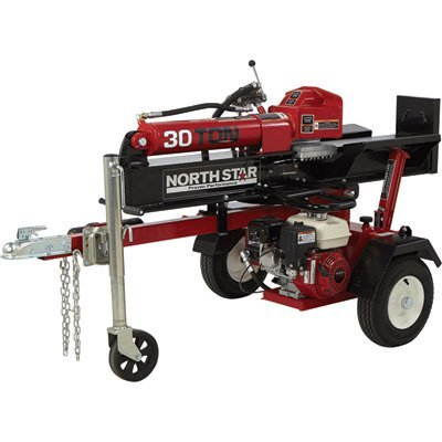 NorthStar Horizontal/Vertical Log Splitter - 30-Ton, 200cc Honda GX200 Engine by NorthStar