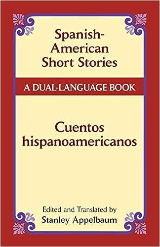 Spanish American Short Stories Cuentos