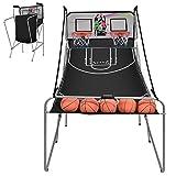 Giantex Foldable Basketball Arcade Game, 8 Game