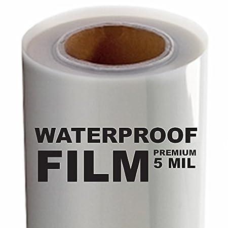 5 MIL - Screen Printing Inkjet Film Transparency - 1 Roll (17 x 100') Screen Print Direct