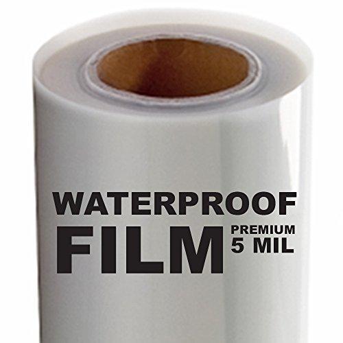 5 MIL - Screen Printing Inkjet Film Transparency - 1 Roll (17