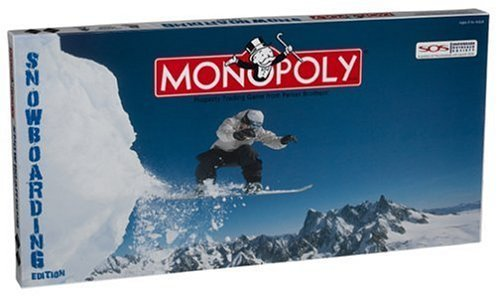 Snowboarding Monopoly by Monopoly