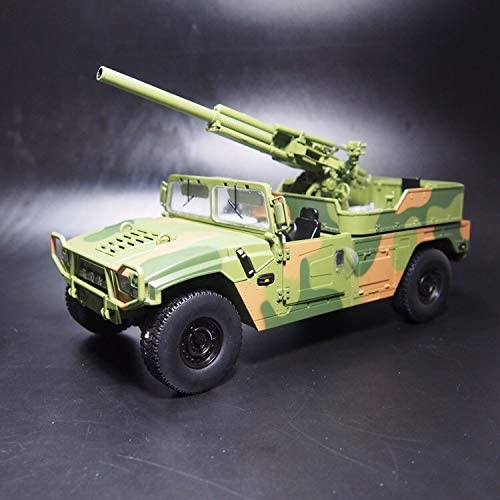 FLOZ 1/18 完成品 Dongfeng Mengshi armored car with type 82 mortar ダ
