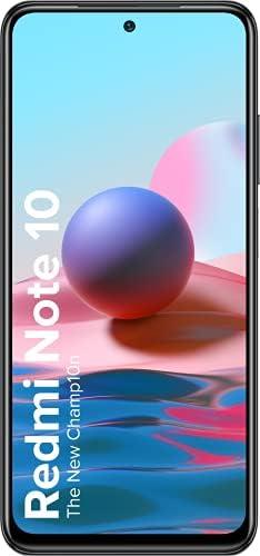 Redmi Note 10 (Shadow Black, 4GB RAM, 64GB Storage) – Amoled Dot Display   48MP Sony Sensor IMX582   Snapdragon 678 Processor