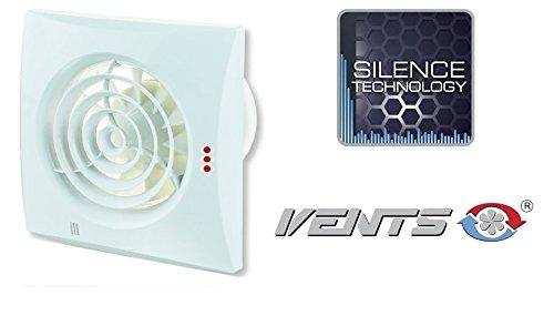 Vents – Ventilador extractor Quiet Easy de 100 mm de diámetro – No sólo Silencioso Sino