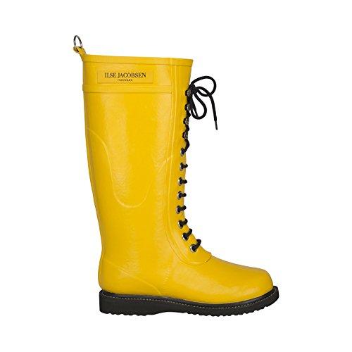 ILSE JACOBSEN Rub1 Boot - Women's Cyber Yellow 38 by ILSE JACOBSEN