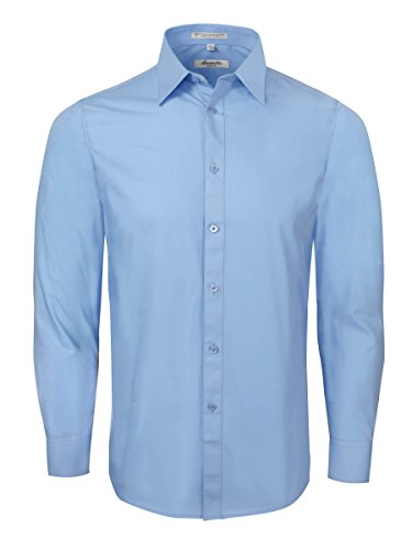 Amanti-Slim-Fit-Dress-Shirt-Convertible-Cuff
