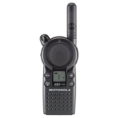 Motorola Business CLS1110 5-Mile 1-Channel UHF Two-Way Radio: Home Audio & Theater [5Bkhe1003033]