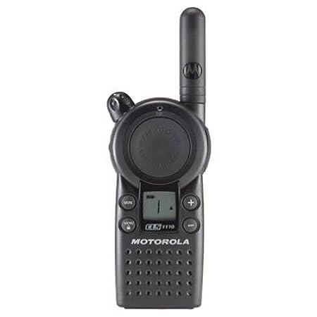 side facing Motorola CLS1110
