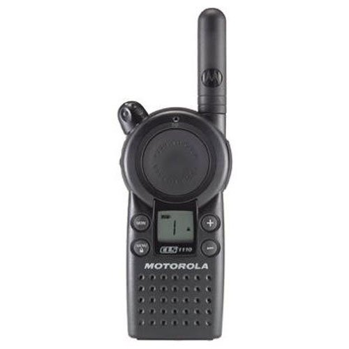 Motorola Business CLS1110 5-Mile 1-Channel UHF Two-Way Radio by Motorola Solutions