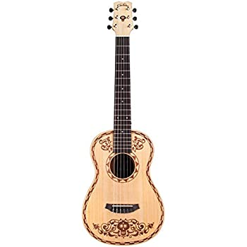 Cordoba Guitars Coco x Cordoba Mini Guitar SP/MH W/B Disney/Pixar Mini Spruce Acoustic Guitar