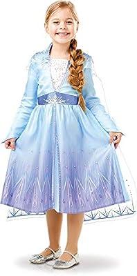 Disney, Elsa Travel Frozen2 Classic - Disfraz de Elsa Travel ...
