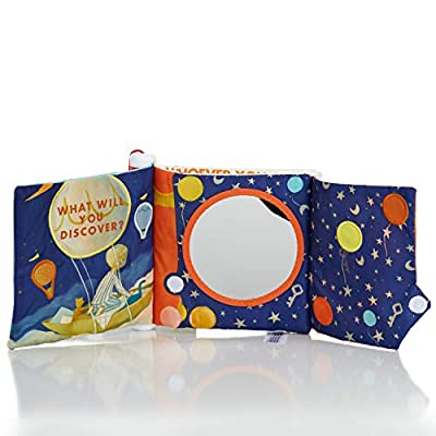 KIDS PREFERRED The Wonderful Things Soft Book with Teether Spine and Crinkle Sounds for Babies: Toys & Games