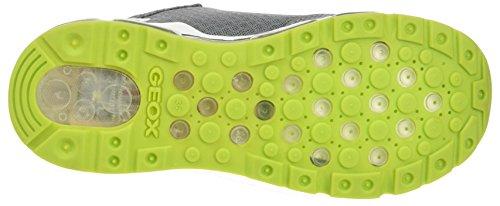 Geox Android a, Zapatillas Para Niños Gris (Grey)