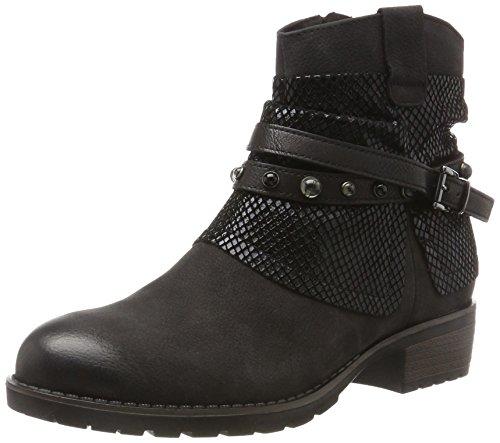 Classiques Femme black Bottes 25311 Tamaris Comb Noir 4wOTFq