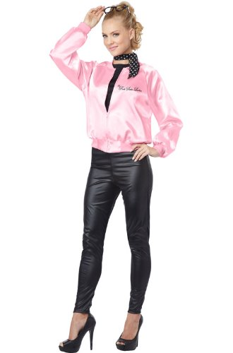 [California Costumes Women's The Pink Satin Ladies Adult, Pink, Medium] (Womens Tailcoat Costume)