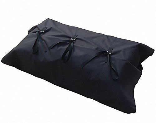 Black Inflatable Boat Carry Carrying Bag Storage Bag in M Size fits for 14' inflatable kaboats transom kayaks