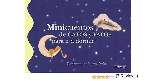 Minicuentos de gatos y patos para ir a dormir eBook: Cristina ...
