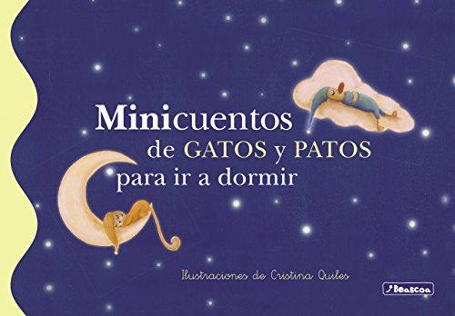 Minicuentos de gatos y patos para ir a dormir (Spanish Edition) by [Martínez