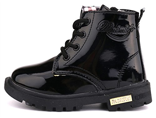 6b0db6642687 Jual LONSOEN Kids Boys Girls Lace Zip Up Ankle Boots - Boots ...