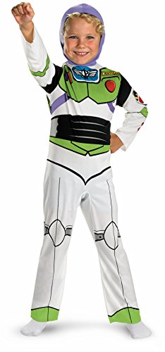 Buzz Lightyear Classic - Size: (Toddler Disney Halloween Costumes)