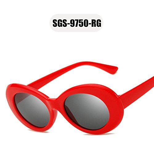 marca de de nuevas Marco Rojo gafas OMAS Tortuga mujeres peso diseñador gafas gafas de ovales sol sol Tortuga la Marrón de mujeres 2018 gafas moda hombres HxqwxPz