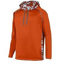 Augusta Sportswear Men's Mod Camo Hoodie, 3X-Large, Orange/Orange Mod