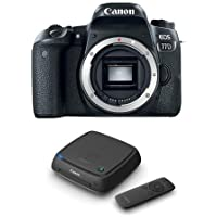 Canon EOS 77D DSLR Body - With Canon Connect Station CS100