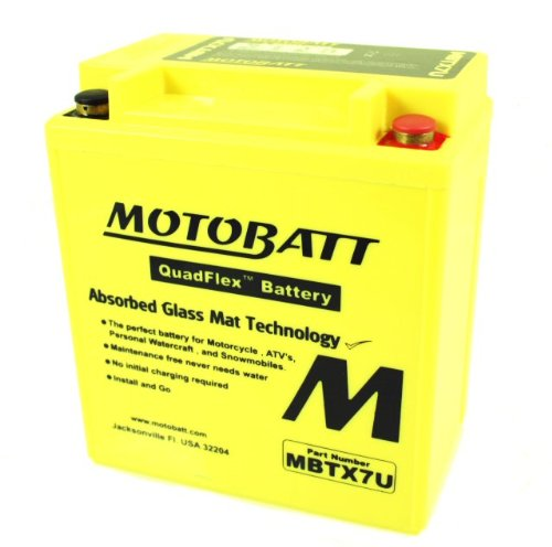 Price comparison product image MotoBatt Quadflex Battery 12v 8ah