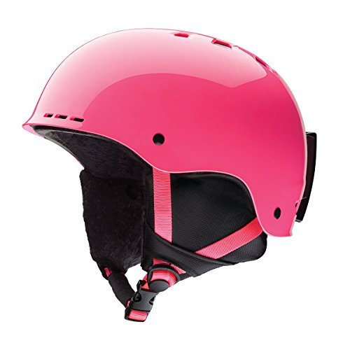 Youth Ski Snowboarding Helmet - Crazy Pink Small (Holt Helmet)
