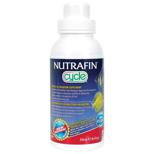 Nutrafin Cycle Biological Filter Supplement, 16.9-Ounce (Cycle For Aquarium)