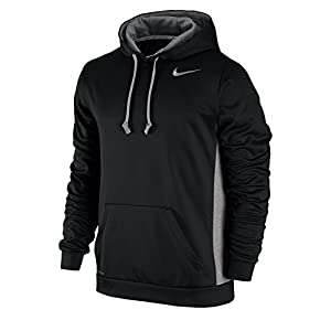 NIKE Men's KO Hoodie 3.0 Black/Dark Grey Heather/Cool Grey Size XX-Large
