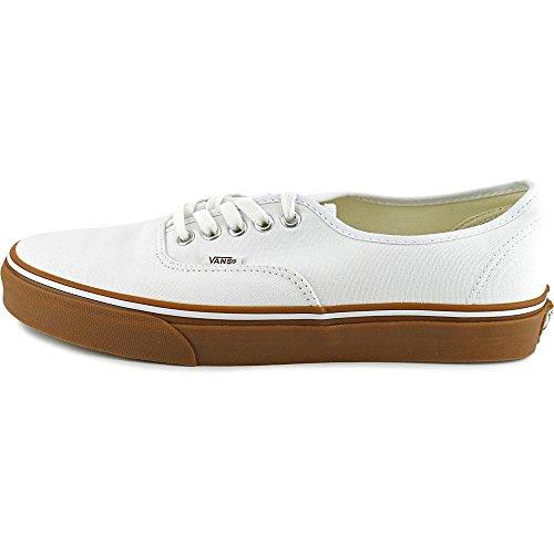 Bestelwagens Unisex Old Skool Classic Skate Schoenen True White / Rubber