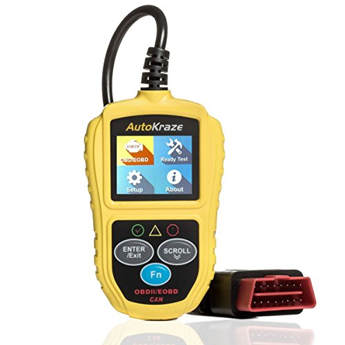 OBD2 Scanner - Car Engine Fault Code Reader | New 2019 Design - Newest Version - CAN Diagnostic Scanner - Clears Trouble Codes to Save You Money | Vehicles of Any Brand | Reliable Durable Easy to Use (Best Code Reader 2019)