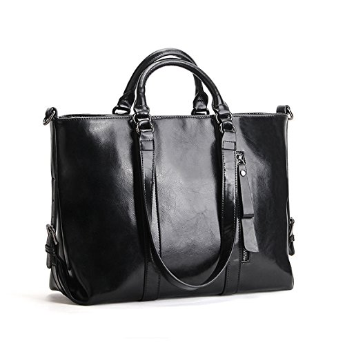Noir LF Sac portés 6178 à Sac portés fashion main main femme Sac épaule cuir en DISSA Ug4qwxq