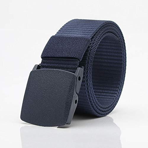 Fanxis Tactical Belt,Outdoor Training Belt Adjustable Tactical Thicken Nylon Belt with Cobra Buckle ()