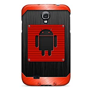 Unique Design Galaxy S4 Durable Tpu Case Cover Android Red