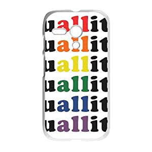 Motorola G Cell Phone Case White Equality For All OJ564508