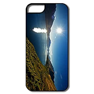 IPhone 5 5S Cases, Lake Wakatipu White/black Protector For IPhone 5S