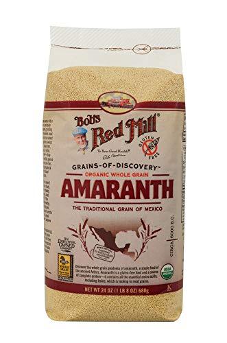 Bob's Red Mill Organic Whole Grain Amaranth, 24 Oz (4 Pack) ()