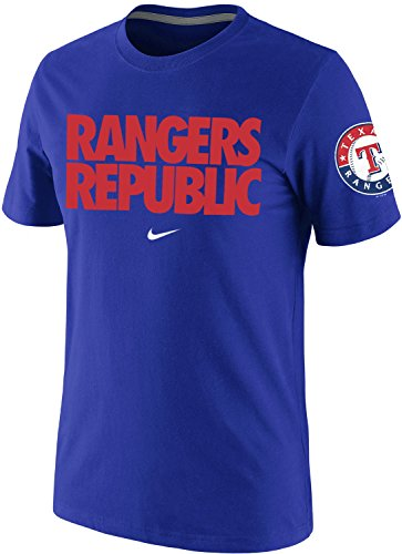 Sleeve Mlb Nike Short Shirt (Nike Texas Rangers Men's MLB