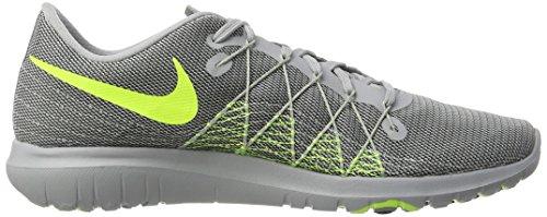 Nike Herren Flex Fury 2 Laufschuhe Mehrfarbig (Gris / Verde)