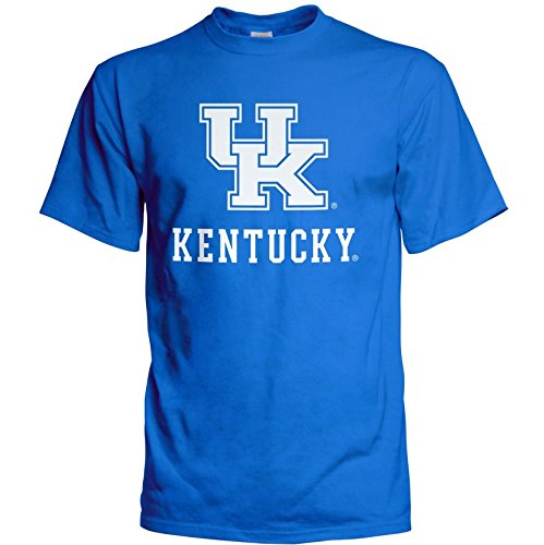 rsity of Kentucky Wildcats Tshirt Arch Blue - XXL (Kentucky Wildcats Fan)