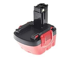 Green Cell® 2607335430 Batería de Herramienta Eléctrica para Bosch (Ni-MH 1.5Ah 12V)