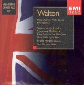 Walton: Piano Quartet/Violin Sonata/Five - Outlets Silverthorne