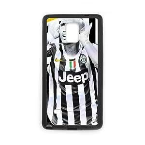 Arturo Vidal PO87HW5 funda Samsung Galaxy Note caja del teléfono celular 4 funda V8NP4T8OT