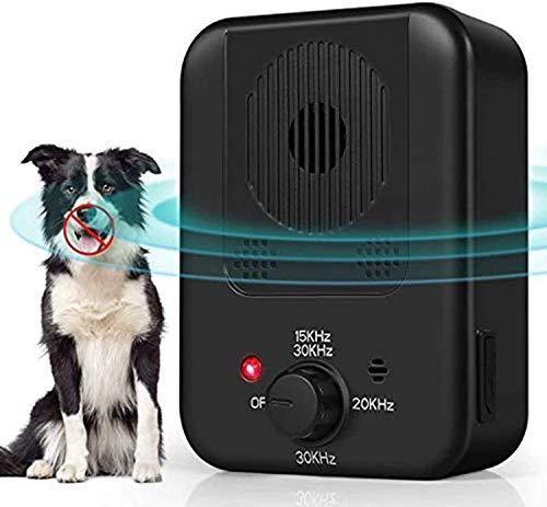 Quenta Bark Control Device, 2021 Upgraded Anti Bark Control Device, Dog Bark Deterrent Behavior Training, Outdoor Sonic…